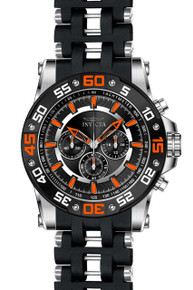 Invicta Men's 22475 Sea Spider Quartz Chronograph Black Dial Watch