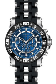 Invicta Men's 22476 Sea Spider Quartz Chronograph Blue Dial Watch
