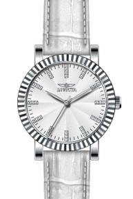Invicta Women's 22482 Angel Quartz 3 Hand Silver Dial Watch