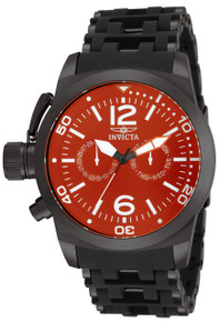 Invicta Men's 80053 Sea Spider Quartz Multifunction Red Dial Watch