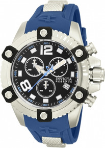 Invicta Men's 80359 Reserve Quartz Chronograph Black Dial Watch