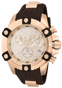 Invicta Men's 80364 Reserve Quartz Chronograph Rose Gold Dial Watch