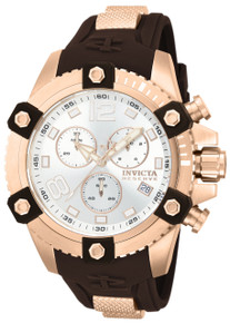 Invicta Men's 80365 Reserve Quartz Chronograph Silver Dial Watch