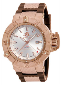 Invicta Men's 80426 Subaqua Quartz 3 Hand Silver Dial Watch