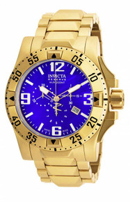 Invicta Men's 80558 Excursion Quartz Chronograph Blue Dial Watch