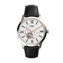 Fossil Townsman Automatic Leather Watch ME3104