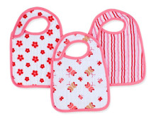 Princess Posie Snap Bibs snap bibs 3 Pack by Aden and Anais