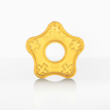 Natursutten natural rubber teether toy star