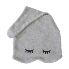 Zoe b organic sleepy hats sweet Grey preemie