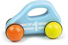 Vilac Baby Car with Handle, Blue