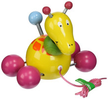 Vilac Baby Paf the Giraffe Pull Toy