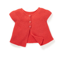 Moulin Roty Olwen coral cardigan