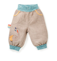 Moulin Roty Oger linen trousers (Serwal)