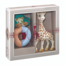 Sophie the Giraffe NEW  Sophiesticated Birth Set small #the set + a bag + a gift card