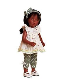 """Petitcollin """"Samira"""" doll Minouche 13 in Sylvia Natterer"""