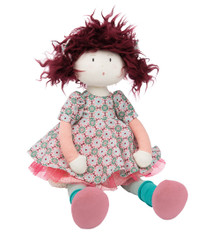Moulin Roty les coquettes Jeanne Rag Doll 15 inches