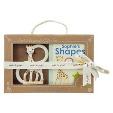 Set So'Pure teether & Sophie's Shapes book
