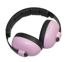 Baby Banz Pink SAFE 'N SOUND EARBANZ+BLUETOOTH 0-2