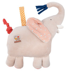 Moulin Roty Musical doll elephant Les Papoum