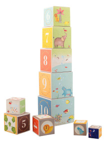 Moulin Roty Les Papoum Stacking Cubes