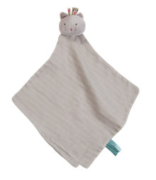 Grey Muslin Lovey - Kitty