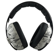BABY HEARING PROTECTION EARMUFFS GRAFFITI DOODLE