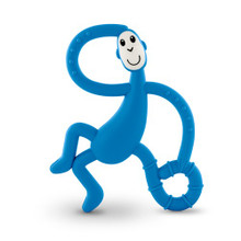 Matchstick Monkey Blue Dancing Monkey Teether