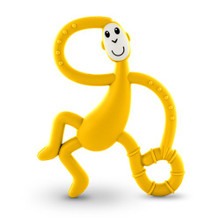 Matchstick Monkey Yellow Dancing Monkey Teether