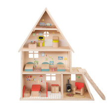Moulin Roty Dolls' house with furniture La Grande Famille