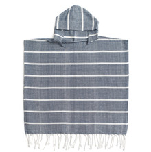 Zestt Bondi Organic Cotton Kids Poncho Navy