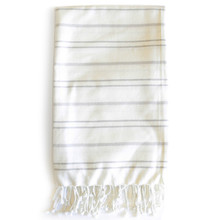 Zestt  Margoa Organic Cotton Fouta Bath Towel - Mist