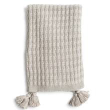 Zestt Organic Cotton Abrams Knit Throw