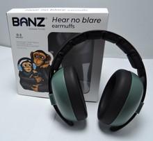 Baby Banz Dark Green Earmuffs by Baby BAnz