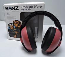 Baby Banz Maroon Earmuffs by Baby Banz
