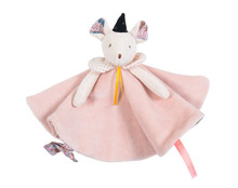 Moulin Roty Comforter Pink Mimi the mouse Lovey Il Était Une Fois