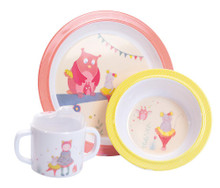 Moulin Roty Backpack Mademoiselle et Ribambelle Dish set