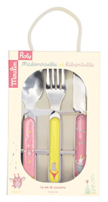 Moulin Roty Mademoiselle et Ribambelle Cutlery set