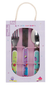 Moulin Roty Les Jolis Pas Beau Cutlery set