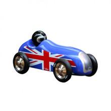 Vilac Union jack Old Sport Car Blue