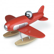 Vilac Red Toy Wooden Seaplane