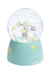 Moulin Roty Les Petits Dodos Musical Snow Globe