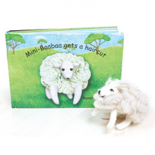 Papoose Mini Baabaa  gets a haircat Book & Toy