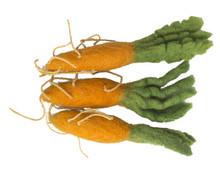 Papoose Felt Mini Carrots