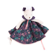 Moulin Roty Il Était Une Fois Purple Flowers Mouse Lovey