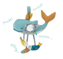 Moulin Roty Josephine the Whale Activity Toy