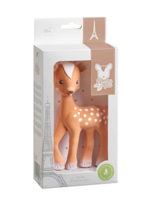 Sophie la Girafe Fanfan the Brown Fawn by Vulli teether  New version
