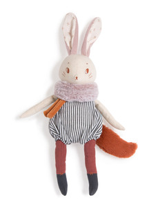Moulin Roty Soft toy Plume large rabbit Aprs la pluie