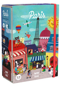 LONDJI in Paris - Night & Day in Paris Puzzle (36pc) Reversible