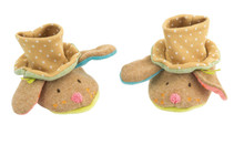 Moulin Roty Les Tratempois Top Hat Bunny Slippers