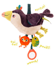 Moulin Roty Dans La Jungle - Hanging Activity Toy Toucan